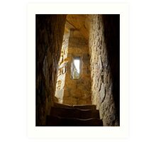 Stairway to History Art Print