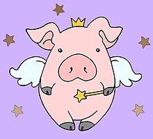 Fairy Wish Piggy by Samantha Little