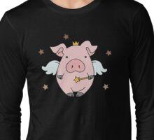 Fairy Wish Piggy Long Sleeve T-Shirt