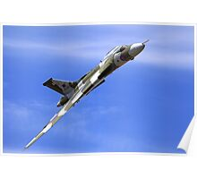 "Avro Vulcan B.2 - XH558 ""Spirit of Great Britain"" Poster"