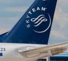 KLM (Skyteam) Cityhopper Embraer ERJ-190 tail livery  Sticker