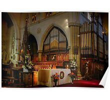 The Organ ~ St Saviour's Cathedral ~ Goulburn NSW Poster