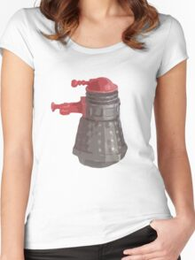 Retro 70's Dalek Women's Fitted Scoop T-Shirt