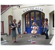 Musicians in Covent garden Poster