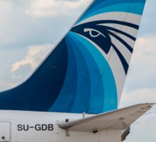 EgyptAir Boeing 737 tail livery Sticker
