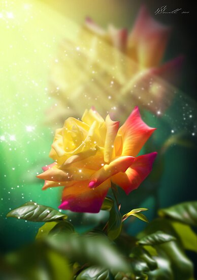 Juicy Rose by Svetlana Sewell