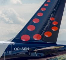 Brussels Airlines Airbus A319 tail livery  Sticker
