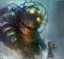 Bioshock Big Daddy  by edwarddent
