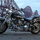 Some Old Iron work, And the Forth Bridge LOL by Ian Coyle