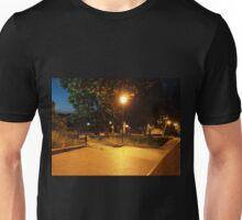 Night scene of the city Unisex T-Shirt