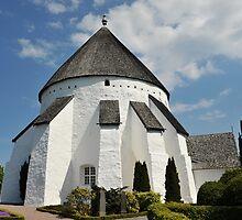 Østerlars round church by Heather Thorsen