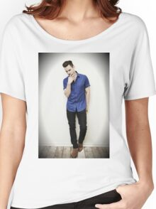 Matt Bomer Women's Relaxed Fit T-Shirt