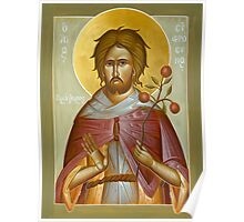 St Euphrosynos the Cook Poster