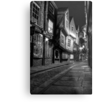 The Shambles, York: 2 Metal Print