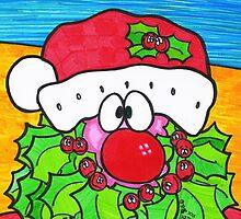 Holly Beard Santa by Sammy Nuttall