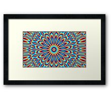 Psychedelic artwork made on photoshop Framed Print