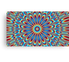 Psychedelic artwork made on photoshop Canvas Print