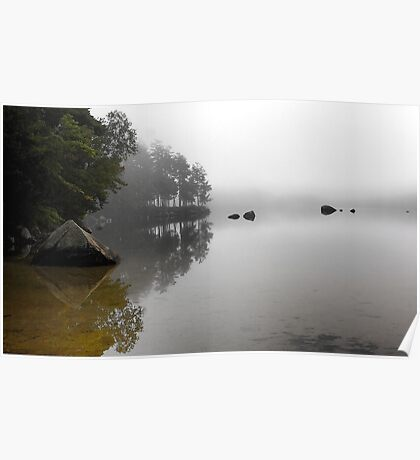 The Stillness - McWain Pond (Waterford,  Maine) Poster