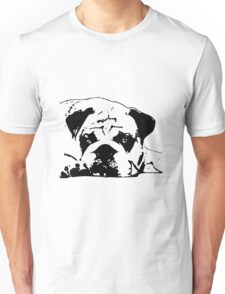 sad dog Unisex T-Shirt
