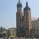 St. Mary's church in Krakow by machka