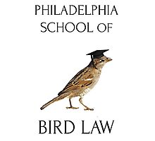 Philadelphia School of Bird Law Photographic Print