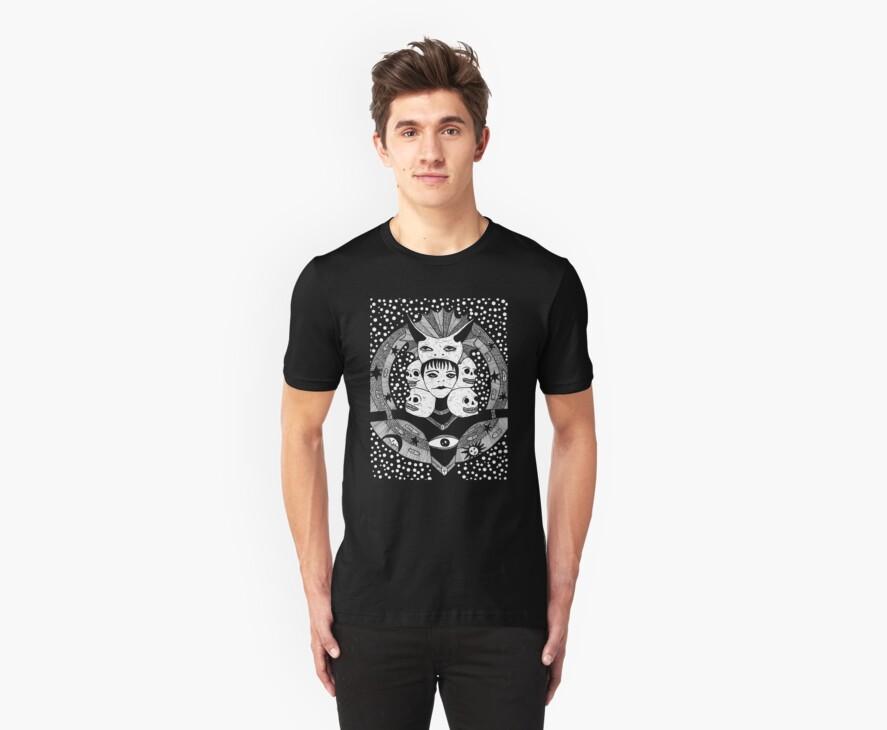 Star-Taker Tshirt by Allie Hartley
