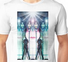 The three faces of Mary Unisex T-Shirt