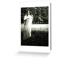 THE LONELY BRIDE SESSION VIII Greeting Card