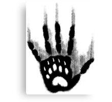 Hand Printed Canvas Print