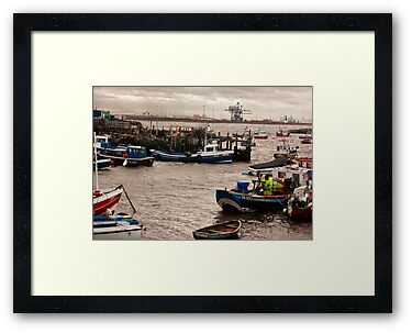 At the Mouth of the River Tees by Trevor Kersley