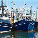 Fishing boats by Poete100
