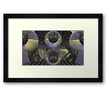 Cubed Spacewarp CV4 Framed Print