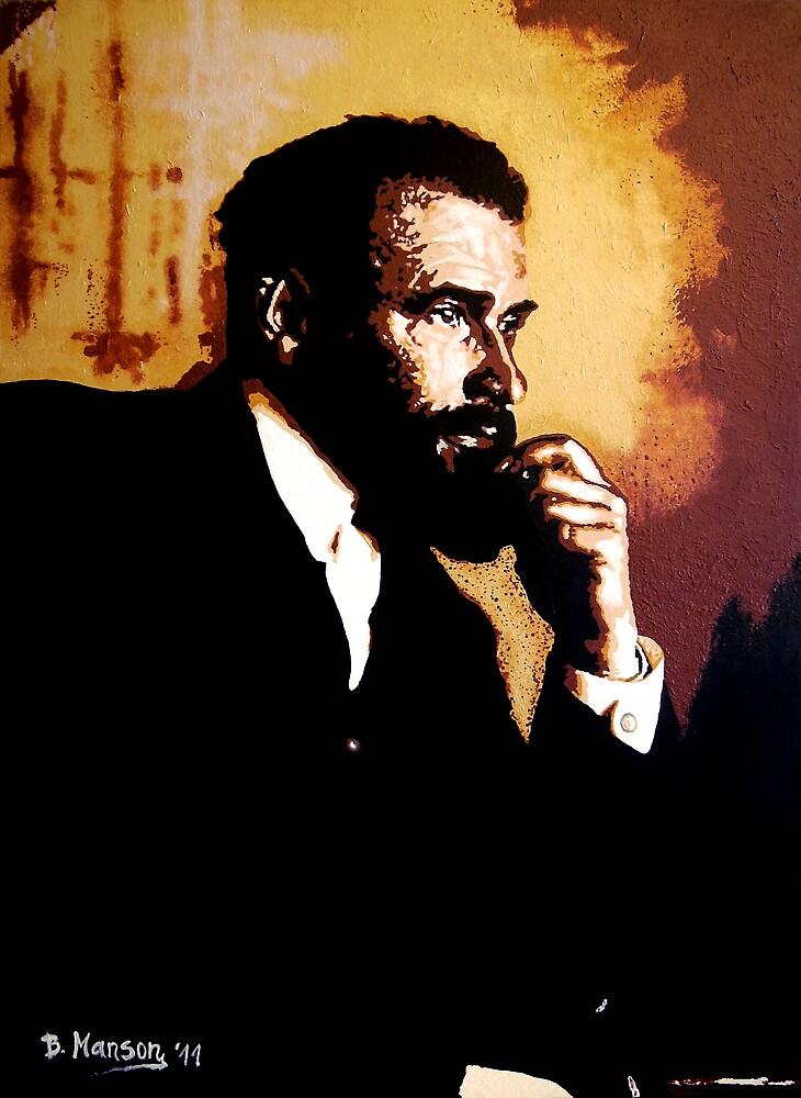 Gustav Klimt by Bela-Manson