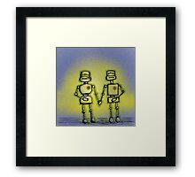 L(ove) E(mitting) D(roids) Framed Print