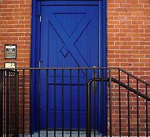 Blue Door-Where Does Your Door Go? by clallredphoto