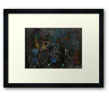 Midnight Garden cycle22 11 Framed Print