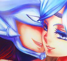 Blue Eyed Maiden + Kaibaman Sticker