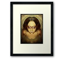 You tangle within me Framed Print
