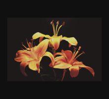 golden lily flowers T-Shirt