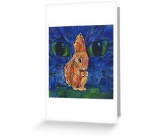 Pouting painting - 2014 Greeting Card