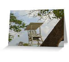 Lifeguard on Duty Greeting Card