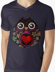Owl's Hatch Mens V-Neck T-Shirt