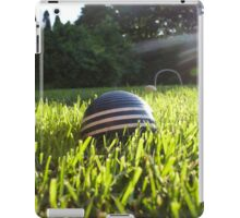 croquet ball iPad Case/Skin