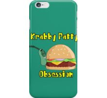 Krabby Patty Obsession iPhone Case/Skin