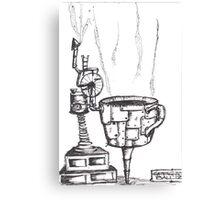 Coffee machine Canvas Print