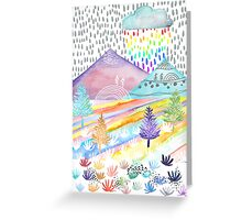 Watercolour Landscape Greeting Card