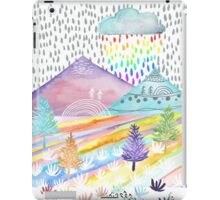 Watercolour Landscape iPad Case/Skin
