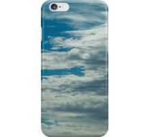 The clouds are moving in iPhone Case/Skin