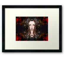Time will feed upon your weakness Framed Print