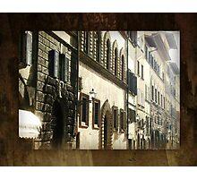 Windows & Doors Facade - Italy Photographic Print